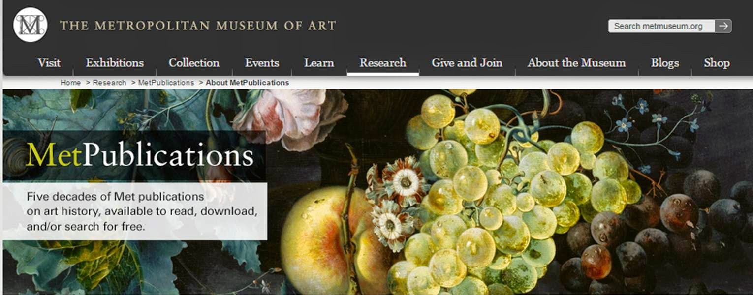 MetPublications, The Metropolitan Museum of Art.