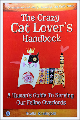 Feline Fiction on Fridays #118 at Amber's Library - The Crazy Cat Lover's Handbook Amber's Purrsonal Copy