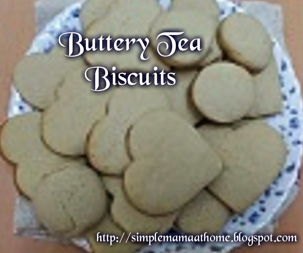 Buttery Tea Biscuits