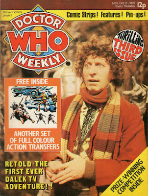 Doctor Who Weekly #3, Tom Baker
