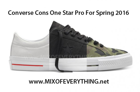 Another iconic sneaker brought to us by Converse is their Cons line. This  Spring 23a1b87fa