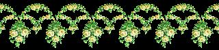 flower border digital rose image