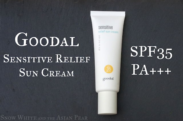 Goodal Sensitive Relief Sun Cream SPF35 PA+++
