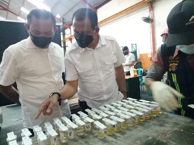 Cegah Penyalahgunaan Narkoba, Polda Kaltim Gelar Tes Urin untuk Karyawan PT BIG Kariangau Balikpapan