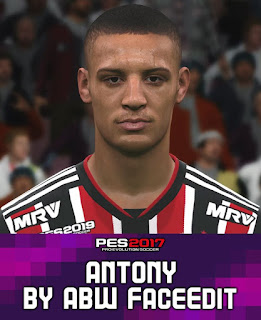 PES 2017 Faces Anthony by ABW