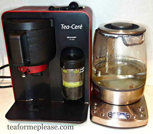 Sharp Tea-Cere and Breville One-Touch