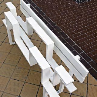 Необычные скамейки. Jeppe Hein
