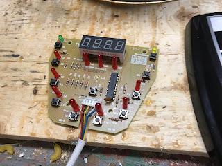Control panel circuit board