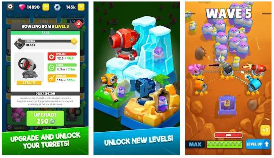Auto Defense for Android MOD APK Unlimited Money