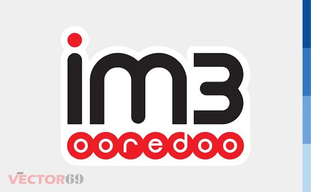 Logo im3 Ooredoo - Download Vector File EPS (Encapsulated PostScript)
