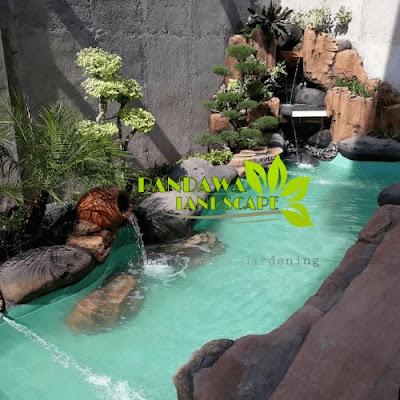 tukang dekorasi kolam tebing sidoarjo