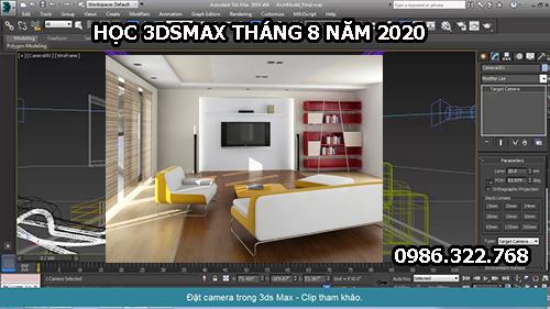 Học 3dsmax tại Hải Phòng