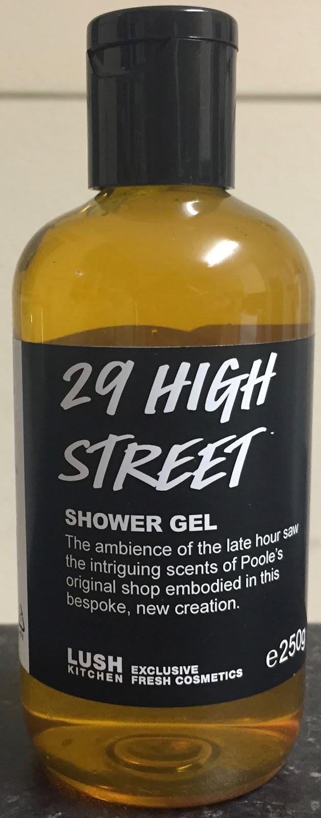 All Things Lush UK: 29 High Street Shower Gel