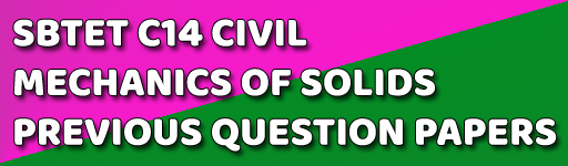 AP DIPLOMA MECHANICS OF SOLIDS PREVIOUS QUESTION PAPERS C-14 DCE