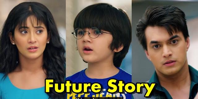 Future Story : Kairav browse through Kartik Naira's love story in Yeh Rishta Kya Kehlata Hai