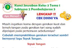 LENGKAP !!! Kunci Jawaban Kelas 3 Tema 1 Subtema 2 Pembelajaran 3