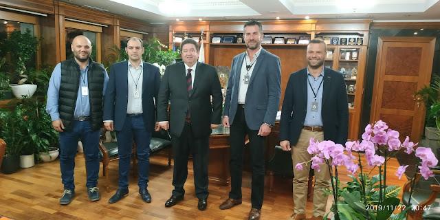 Επίσκεψη της Ένωσης Αστυνομικών Υπαλλήλων Αργολίδας στον  Αρχηγό της Ελληνικής Αστυνομίας