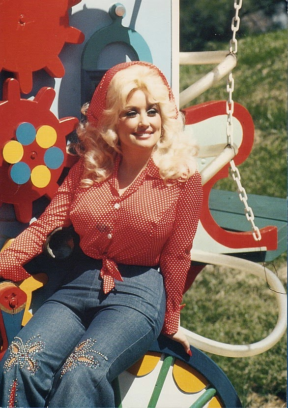 20 Beautiful Portrait Photos of Dolly Parton in the 1970s ~ vintage everyday