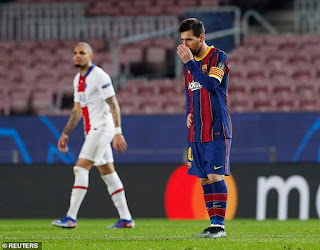 Joe Cole: Lionel Messi looked 'disinterested' in Barca's 4-1 mauling by PSG