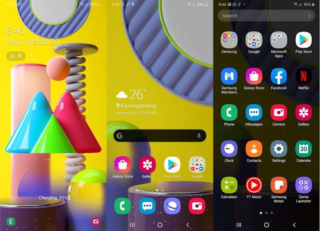 Software & Fitur Samsung Galaxy M31