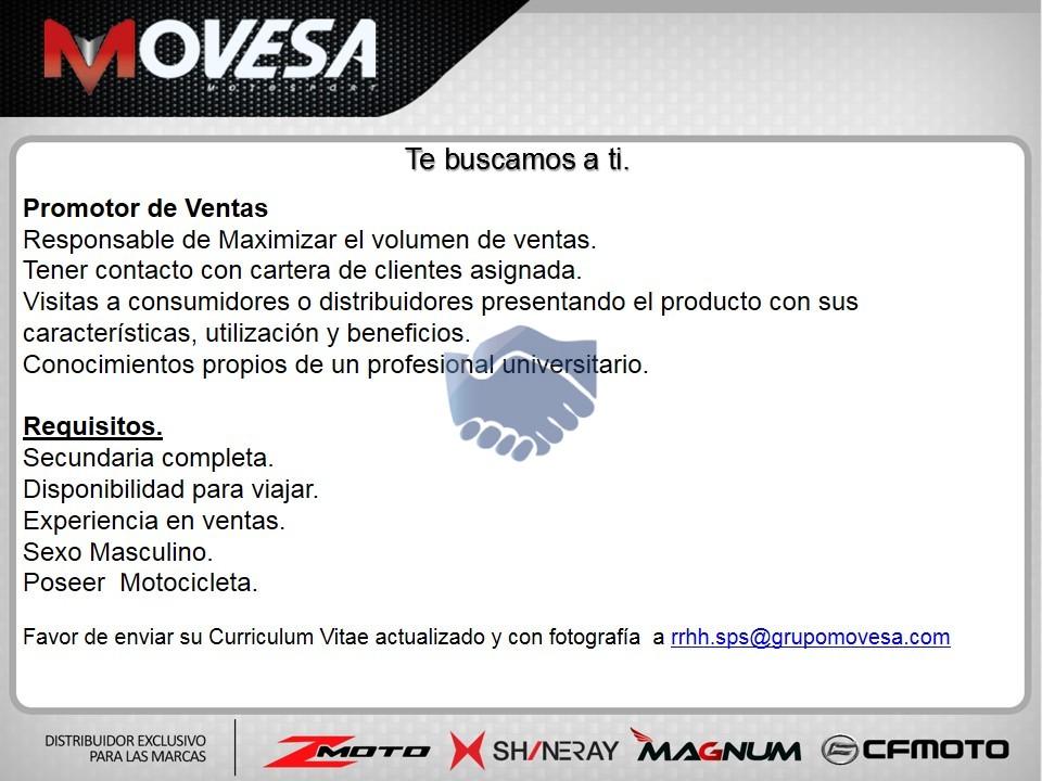 Promotor De Ventas Tegucigalpa Bolsa De Empleos Honduras