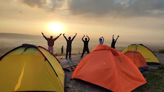 Matahari Terbit di Bukit Glodakan
