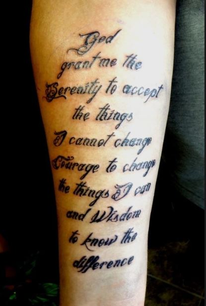 Quote Tattoos for Boys