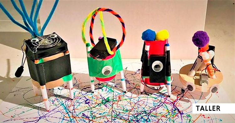 Construye tu robot reciclado ¡Taller infantil gratis!