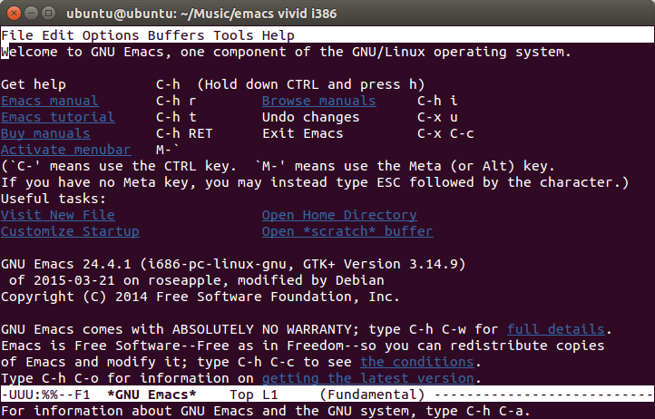 emacs ubuntu