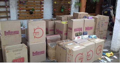Gecoc desbarata quadrilha especializada em falsificação de cigarros em Alagoas