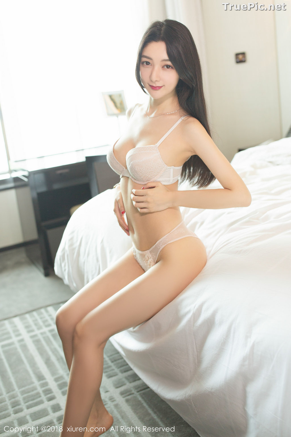 Image XIUREN No.1141 - Chinese Model - Xiao Reba (Angela小热巴) - Sexy Dress Tonight - TruePic.net - Picture-48