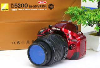 Kamera Bekas Nikon D5200 Fullset