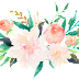 Water Colour Flower PNG 17