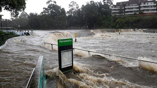 Heavy rains and dangerous floods in Australia
