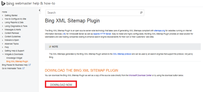 http://www.wikigreen.in/2015/02/how-to-install-bing-xml-sitemap-plugin.html