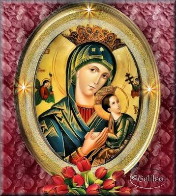 Resultado de imagen para Nuestra Señora del perpetuo socorro