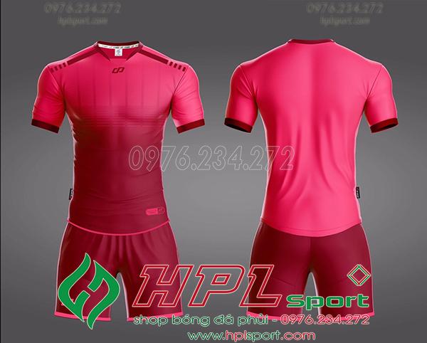 Áo bóng đá không logo Cp Cobat Màu Hồng