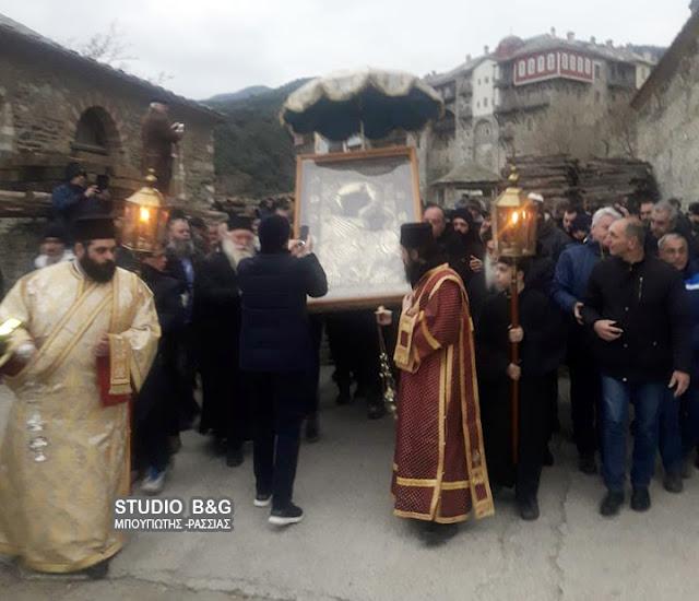 Προσκυνητές από το Ναύπλιο γιόρτασαν σήμερα Θεοφάνια στο Άγιο Όρος