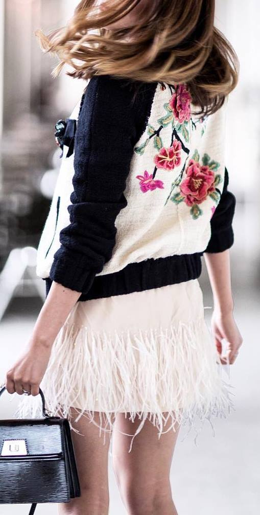 summer street style obsession: bag + jacket + skirt