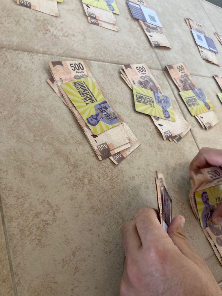 Denuncian en redes sociales compra de voto por parte de Felipe Sandoval
