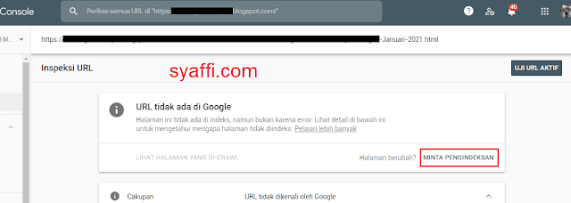 20. Keterangan URL tidak ada di Google