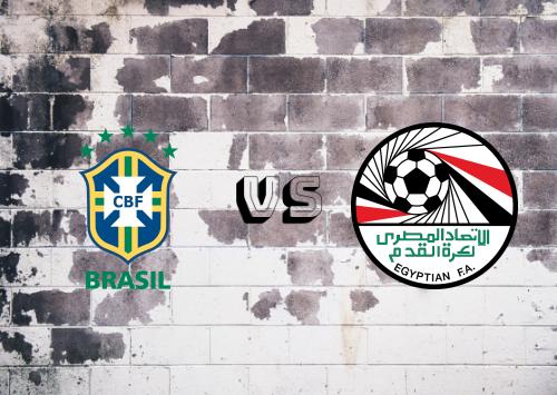 Brazil vs Egypt Resumen y Partido Completo