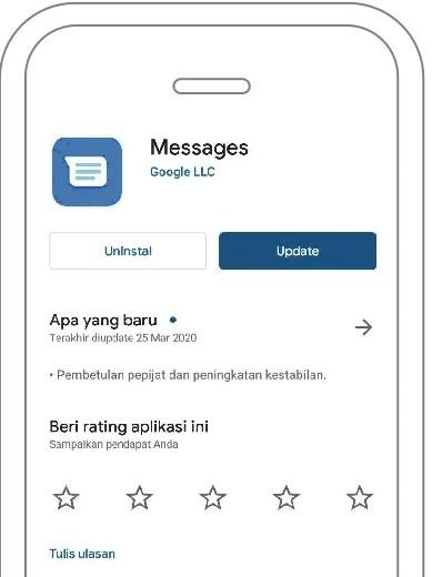 Pesan SMS Banking Tidak Mau Terkirim Pada HP Android