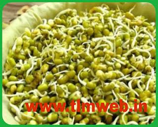 Eat the sprouted green gram.....  మొలకెత్తిన పెసళ్లు తింటే.. వయసు మీద పడదట.