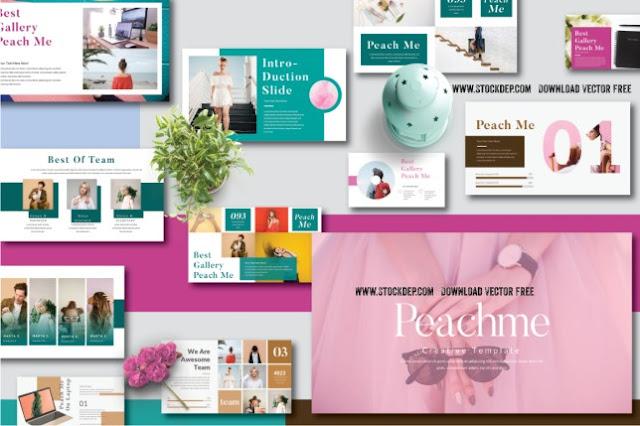 Peachme Creative Template free