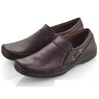 Daftar Harga Sepatu Pria Everflow Sepatu Formal Pantofel Kerja Kantor Kulit Asli Pria - Brown