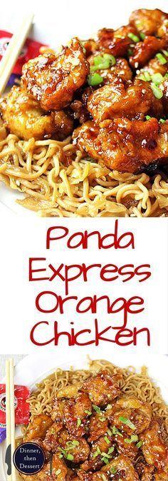 PANDA EXPRESS ORANGE CHICKEN