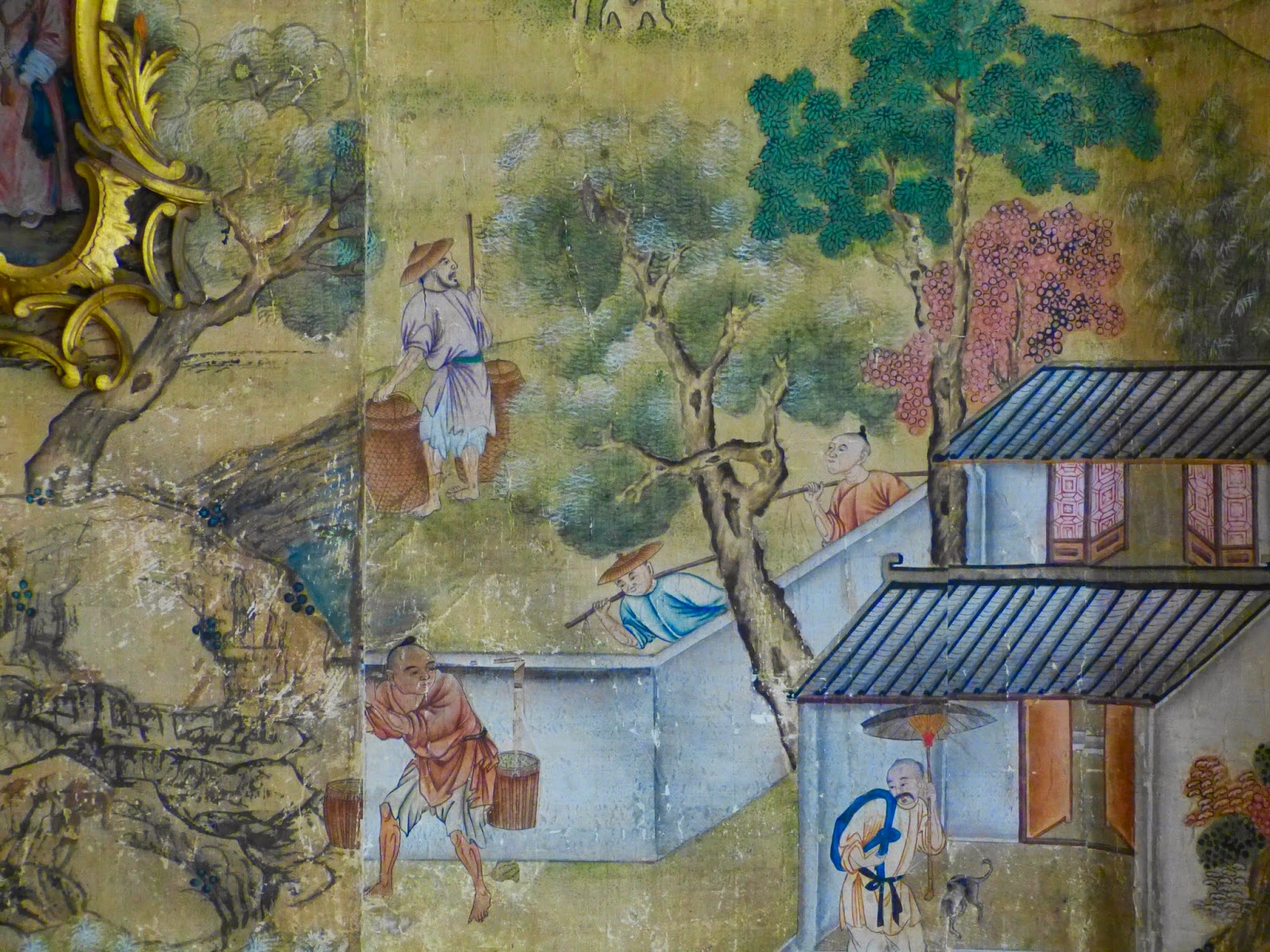 Chinese wallpaper, The Chinese Bedroom, Saltram