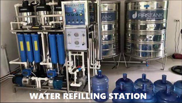 Mga Paraan sa Pagpapatayo ng isang Water Refilling Station na Negosyo