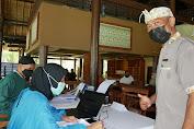 Sukseskan Program Vaksinasi Pelaku Wisata, Polres Lombok Barat Polda NTB Lakukan pendampingan dan Pemantauan
